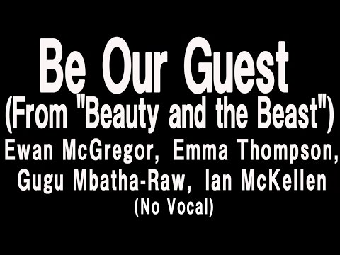 "Be Our Guest (From ""Beauty and the Beast"")(No Vocal)"