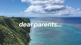 dear parents... || Tate McRae Lyrics