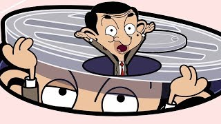 Bean in a hole | Funny Clips | Mr Bean Cartoon