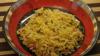 Spanish Rice Recipe Cook Along Version Mexican Rice