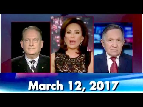 +++Justice with Judge Jeanine - Fox News +++ 03/12/2017 sunday usa