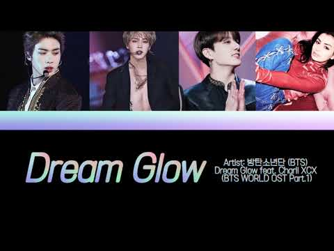3HR BTS - Dream Glow Feat. Charli XCX 방탄소년단 1 HOUR with lyrics sub 1 HORA 1시간 반복 듣기 1 Hour Loop