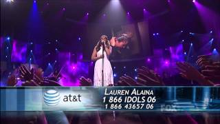 "true HD Lauren Alaina ""Like My Mother Does"" Top 2 American Idol 2011 (May 24)"