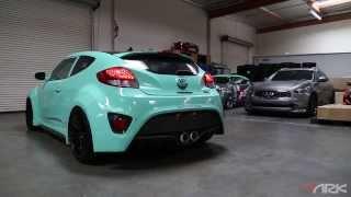 Hyundai Veloster Turbo ARK DT S Exhaust System смотреть