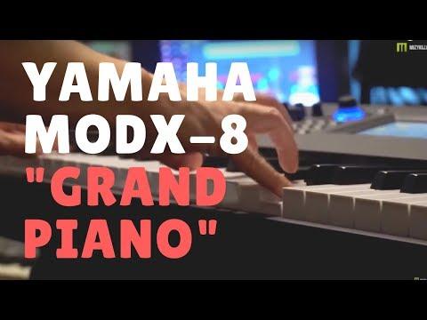Nagrania dla muzykuj.com – Yamaha MODX8 Grand Piano CFX  – Yamaha MODX-8 gra: Kamil Barański www.muzykuj.com