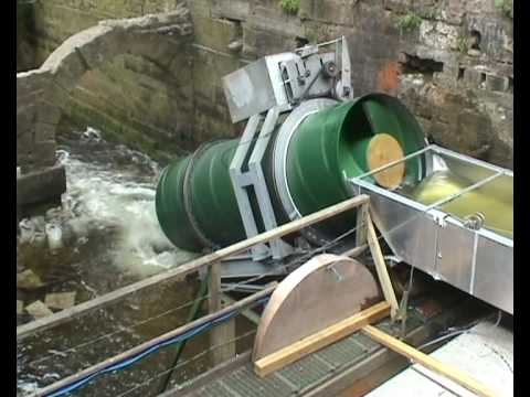 Plastic archimedes screw youtube for Dimensioni water