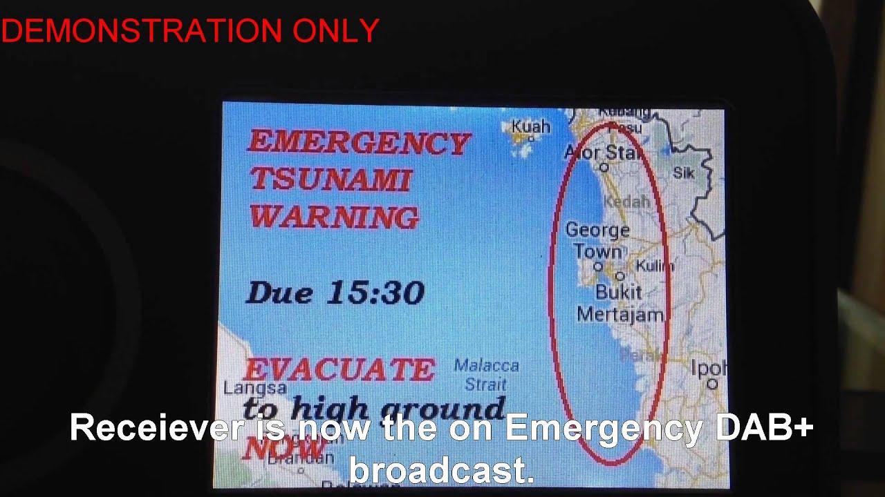 DAB+ Emergency Warning System - YouTube