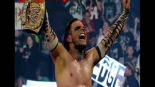 armageddon 2008 JEFF HARDY NEW WWE CHAMPIONS