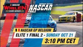 ELITE 1 Final 2   NASCAR GP BELGIUM 2018