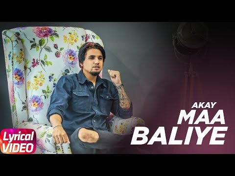 Maa Balliye ( Lyrical ) | A Kay Feat Jandu |Latest Punjabi Song 2017 | Speed Records