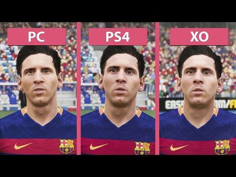 Vídeo compara gráficos de PC, PS4 e Xbox One com FIFA 16