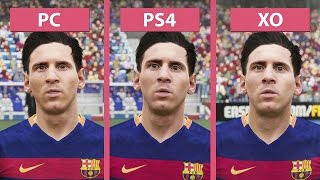 FIFA 16 – PC vs. PS4 vs. Xbox One (Demo) Graphics Comparison [FullHD][60fps]