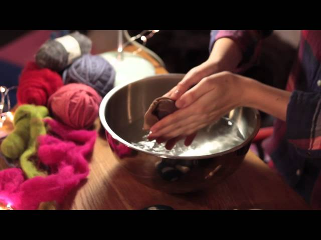 How To Make Felted Soap (with Ashley Anderson) l One Minute Tips