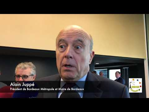 Interview - Alain Juppé et de Jean-Jacques Puyobrau (Bordea