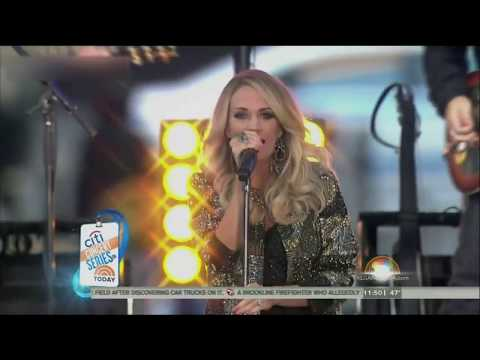 Carrie Underwood - Blown Away (Today Show 2015)