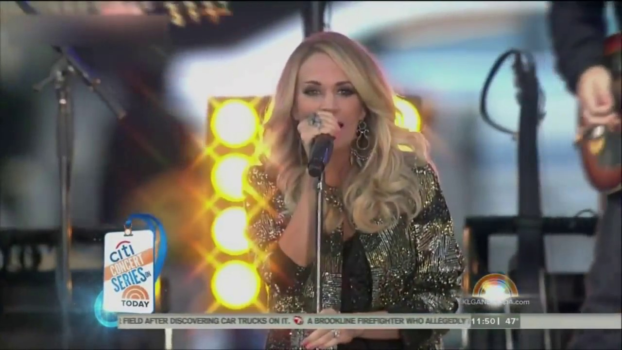 Download Carrie Underwood - Blown Away (Today Show 2015)