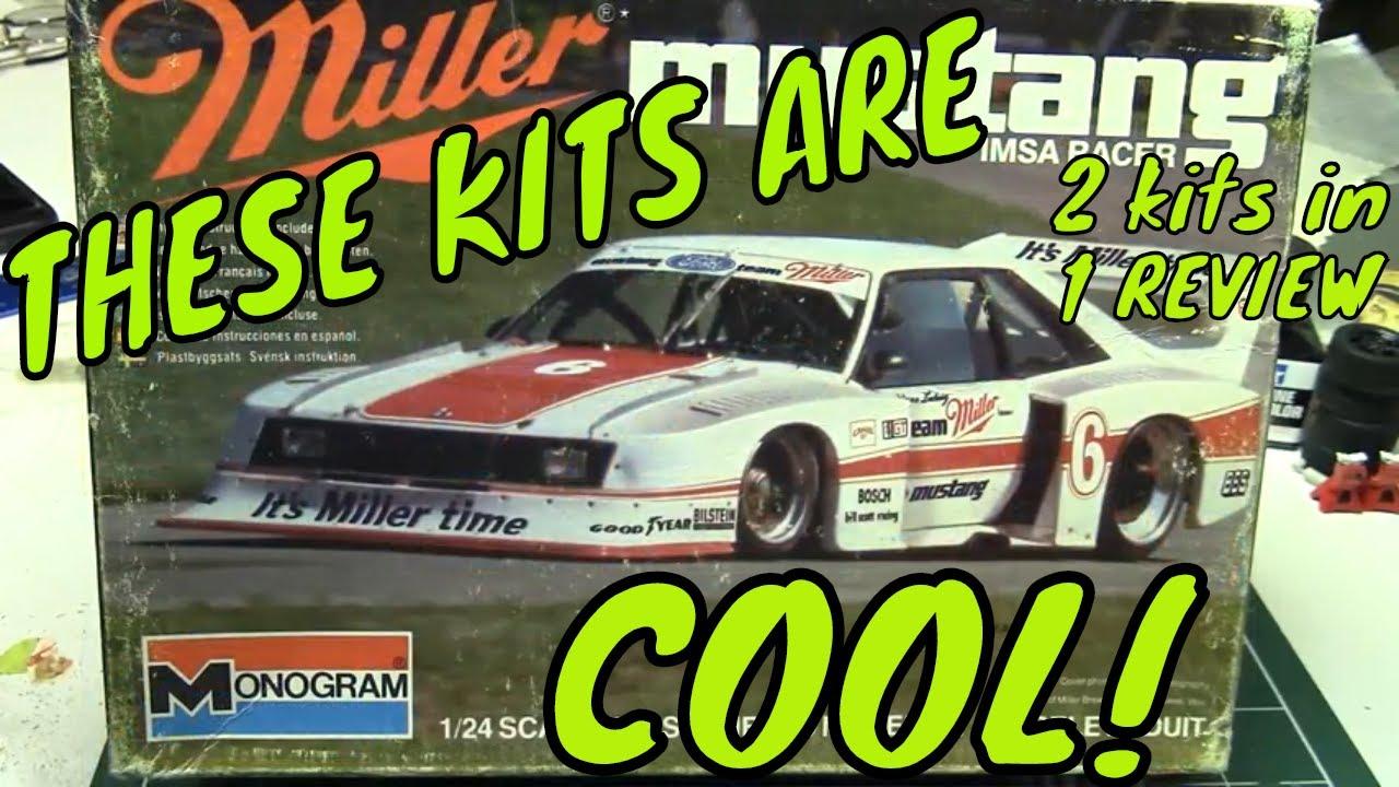 Luka's Kits #15 Monogram IMSA GT and GTP Mustangs