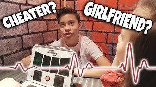 LIE DETECTOR TEST!!! Does Evan Have a Girlfriend? FORTNITE NERF GUNS at Hasbro!
