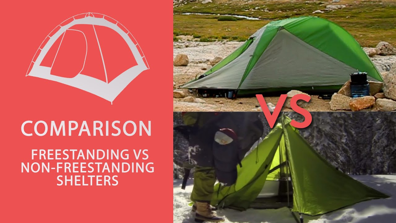 & Best Tent - Freestanding or Non-Freestanding? - YouTube
