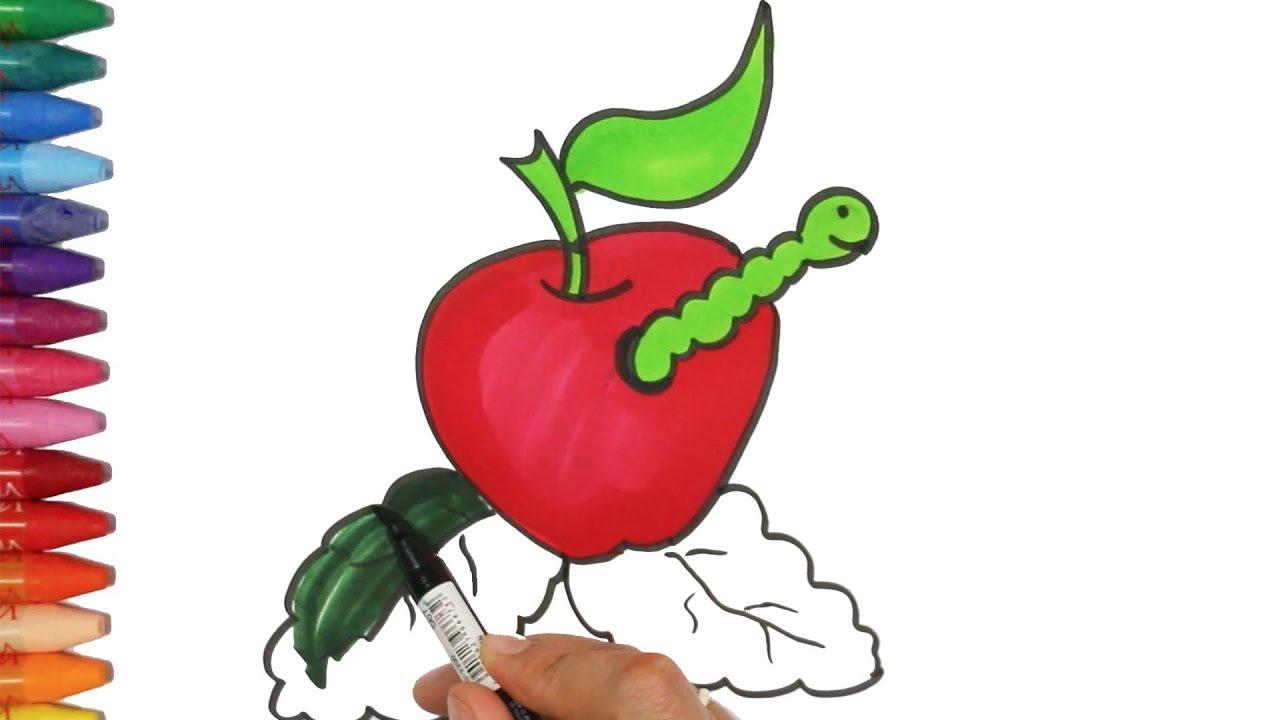 Kurtlu Elma çizim Nasıl Yapılır Nasıl çizilir çocuk Ve Bebek