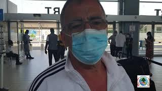 اراء المغادرين من مطار أبيدجان الدولي الى لبنان على متن طائرة طيران الشرق الأوسط  للرحلة الثانية