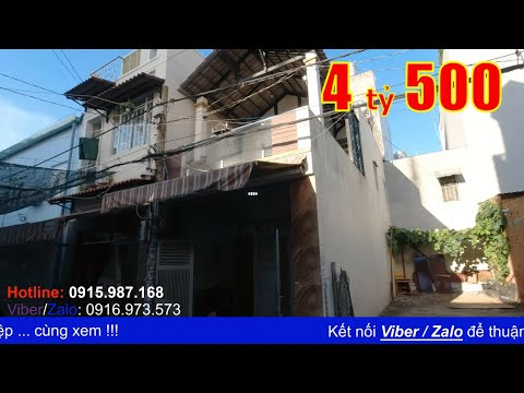 Video nhà bán quận Bình Tân, gần AEON Tân Phú. Nhà 1 lầu 4x14m hẻm 6m