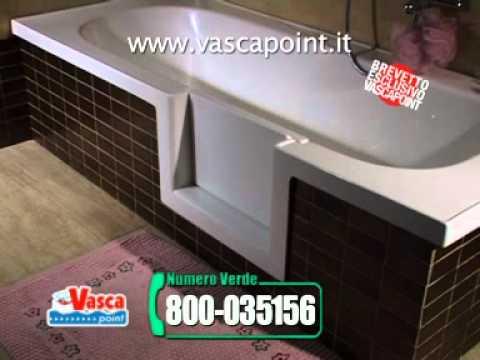 Vasche Da Bagno Con Sportello : Vasca con sportello sovrapposta vascapoint youtube