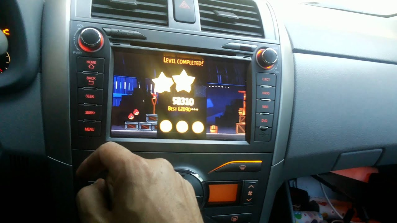 corolla 2010 central multimidia M1 ANDROID - YouTube