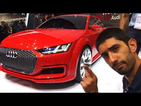 Audi TT Sportback concept al Salone di Parigi 2014