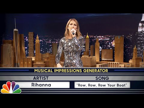 Thumbnail: Wheel of Musical Impressions with Céline Dion
