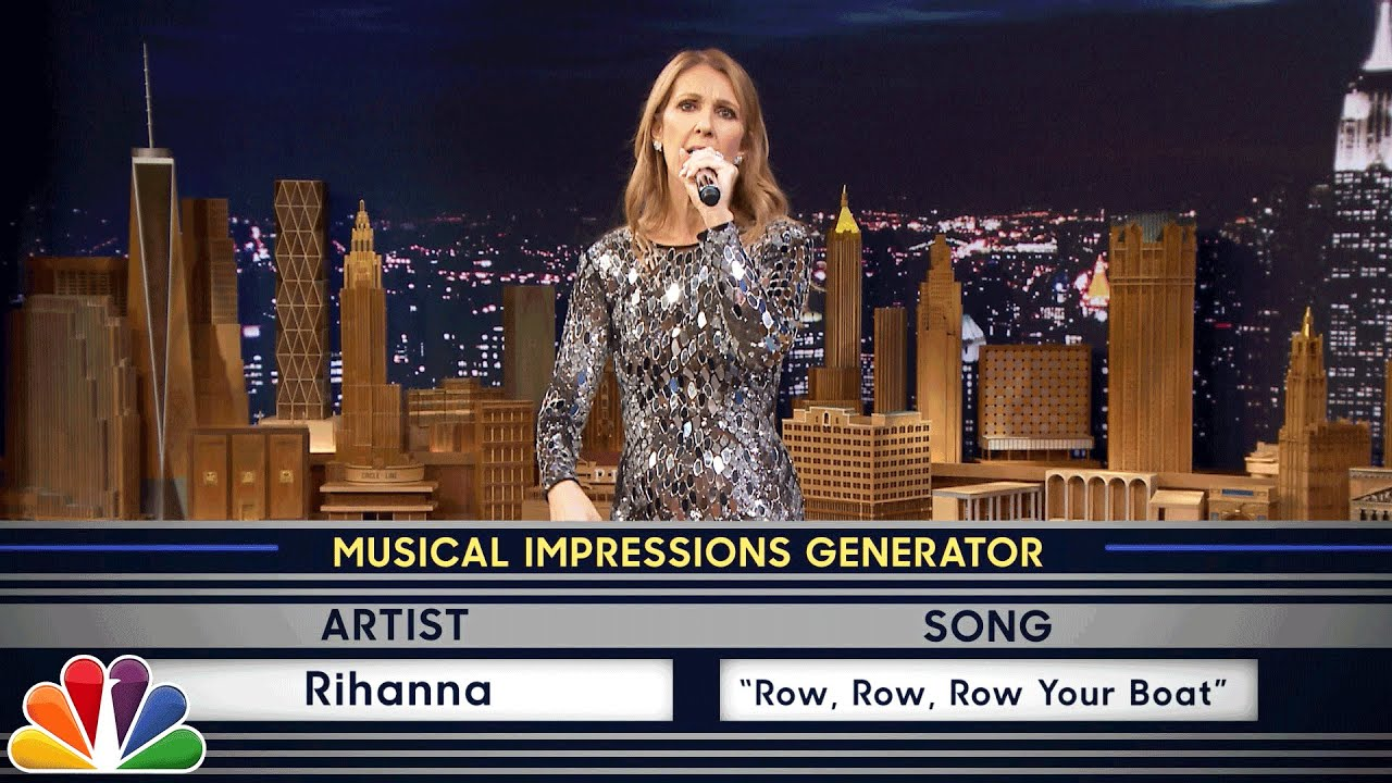 Download Wheel of Musical Impressions with Céline Dion