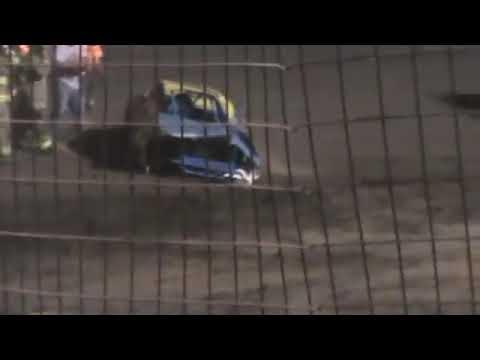 Dave Swafford Flip Cardinal Speedway 2014