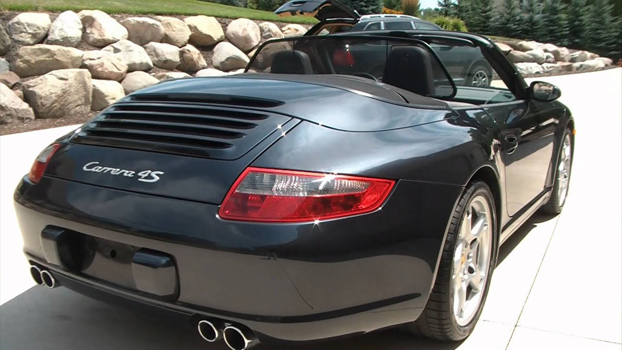for sale 2007 porsche 911 carrera 4s cabriolet akron ohio. Black Bedroom Furniture Sets. Home Design Ideas