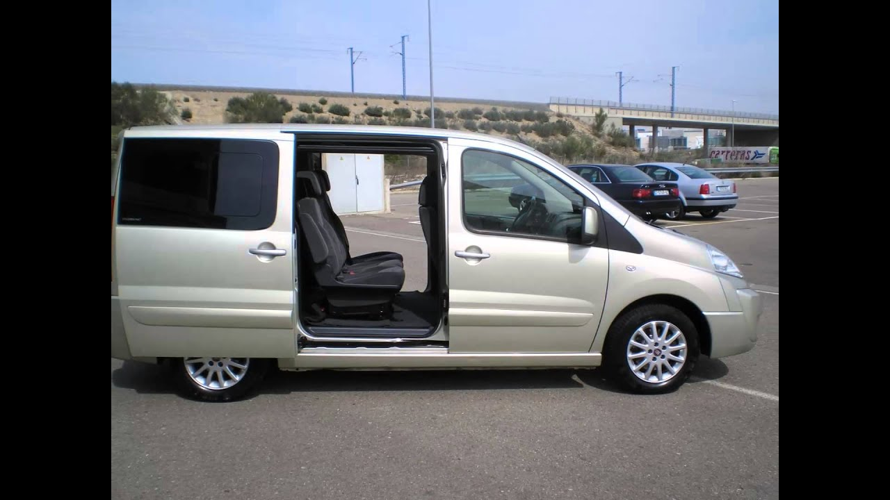 fiat scudo panorama 10 family c 2 0mjt 136 youtube. Black Bedroom Furniture Sets. Home Design Ideas