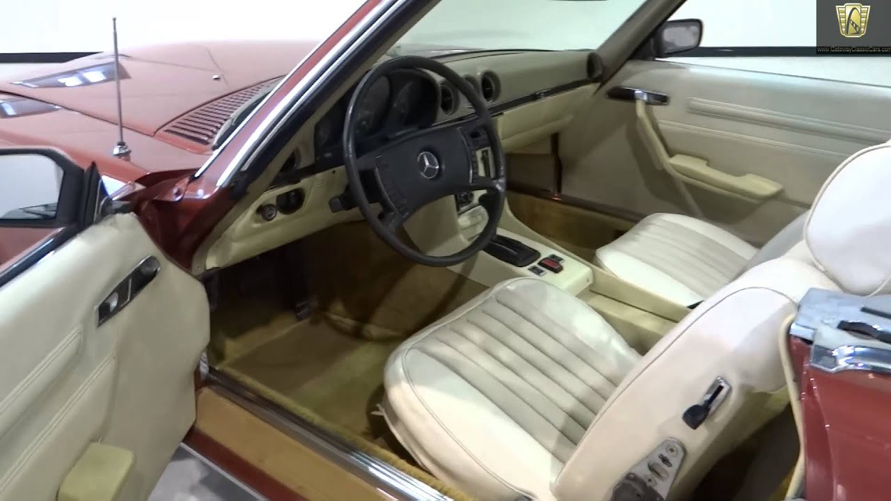 Mercedes Benz Indianapolis >> 1972 Mercedes 450SL Roadster - #108 NDY - Gateway Classic Cars - Indianapolis - YouTube