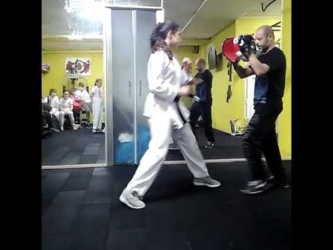 Çocuk Karate Lapa Antrenmanı