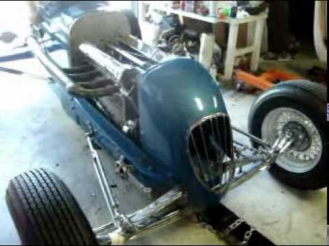 Hal Head Vintage Race Car Sprint Car Youtube