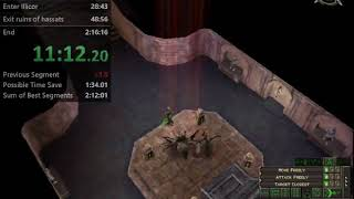 WR Dungeon Siege Legends of Aranna in 2h06min37sec (2h00 IGT)