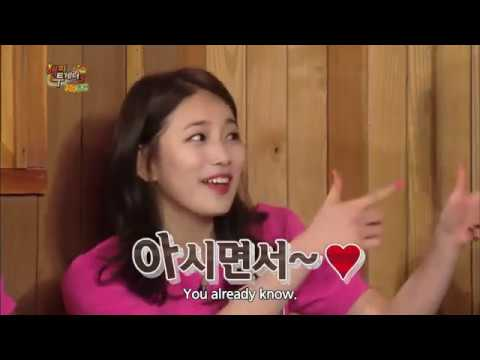 Happy Together  – Suzy talking about Lee Min Ho (2015.04.23)