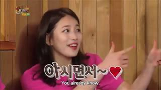 Happy Together  - Suzy talking about Lee Min Ho (2015.04.23)