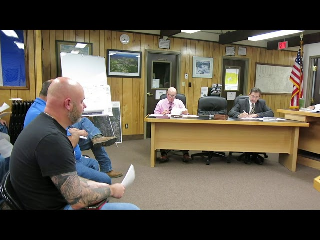 Peru Town Board Meeting  10-28-19