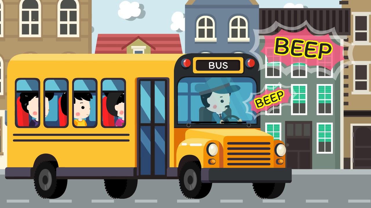 The Wheels on The Bus เพลง รถบัส   nursury rhymes   kids song   เพลงเด็ก น้องนะโม
