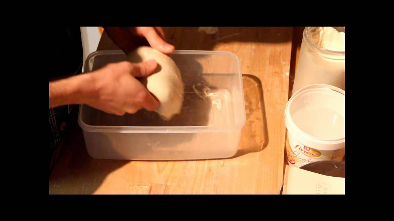Wie Falte Ich Brotteig (2)