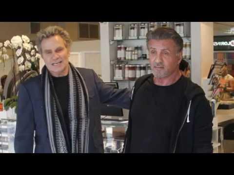 Sylvester Stallone runs into First Blood sequel costar Martin Kove