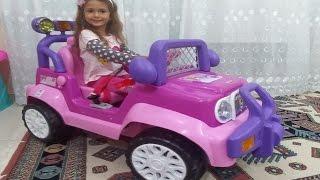 Elife 200.000 abone hediyesi princess jeep , eğlenceli çocuk videosu thumbnail