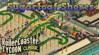 Sugarloaf Shores | Rio Carnival | Rollercoaster Tycoon Classic | Wacky World's | Let's Play
