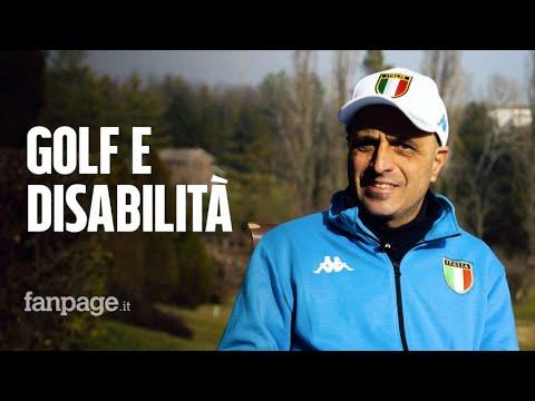 Golf e disabilità, la storia di Raffaele: 'Ho fatto una scommessa con me stesso e l'ho vinta'