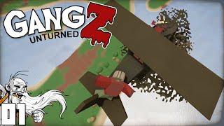 """THE STANKY LEG BOYZ GANG!!!"" - Unturned GangZ PvP Multiplayer Let"