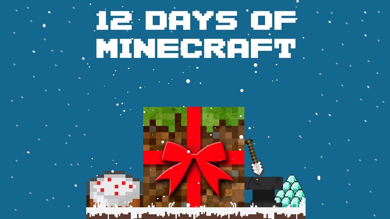 12 Days of (Minecraft) Christmas - A Parody - YouTube