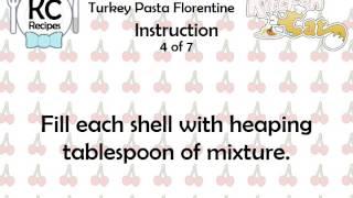 Turkey Pasta Florentine - Kitchen Cat